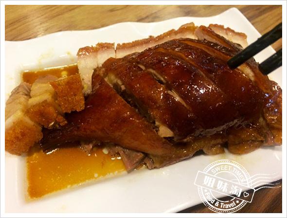 尖沙咀茶餐廳-爆表好吃的叉燒肉