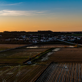 Castelo by Edu Marques - Landscapes Sunsets & Sunrises ( field, sky, skylover, photojournalism, sunset, landscapes, landscape, photography )