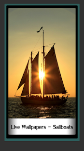 Live Wallpapers – Sailboats - náhled