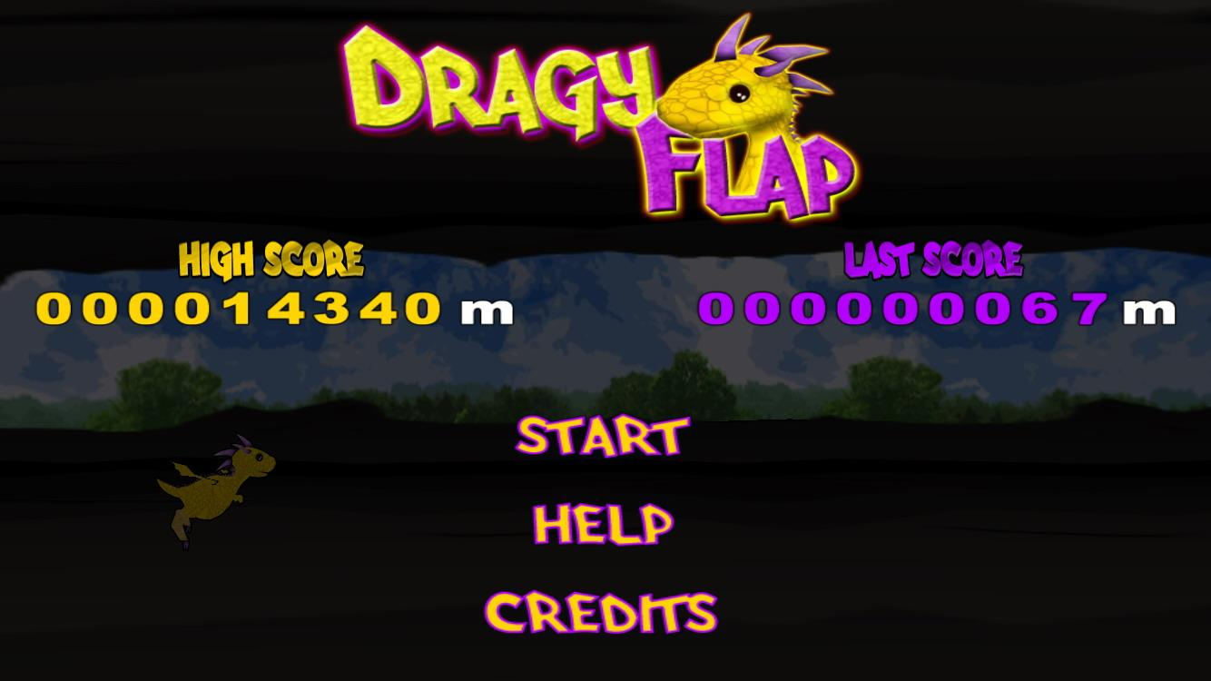 Dragy Flap Free- screenshot