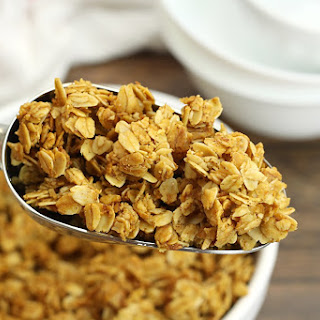 Five Ingredient Vanilla Granola Recipe