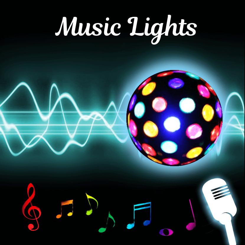 Music Light Flashlight Strobe  Music Visualizer