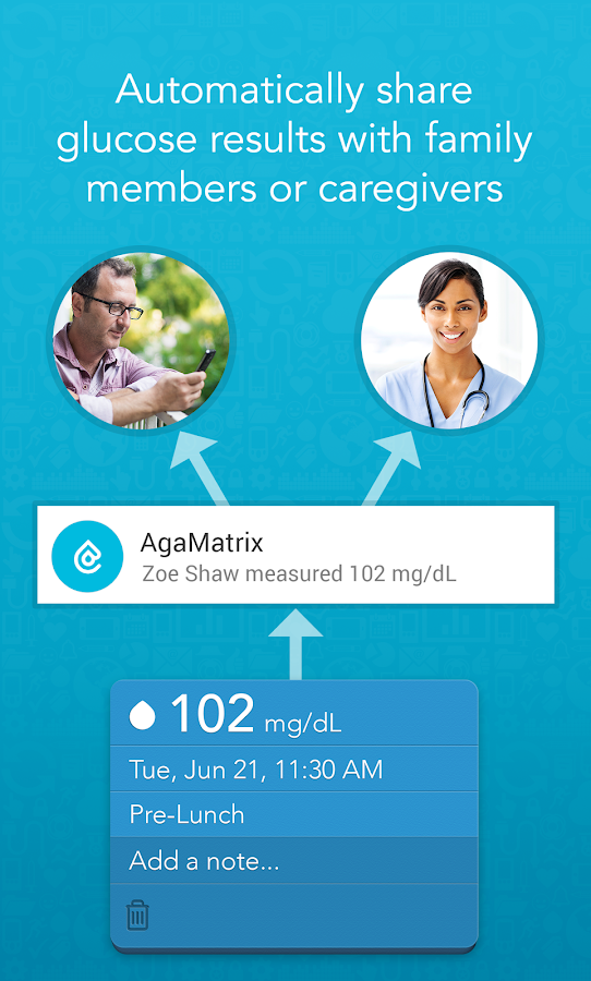 AgaMatrix Diabetes Manager- screenshot