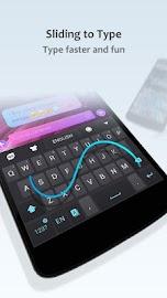 GO Keyboard Lite + Emoji Screenshot 5