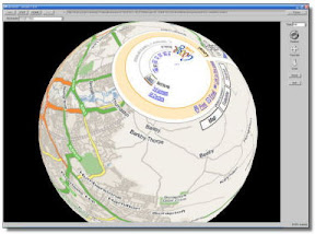 WebPage mapeada a una esfera