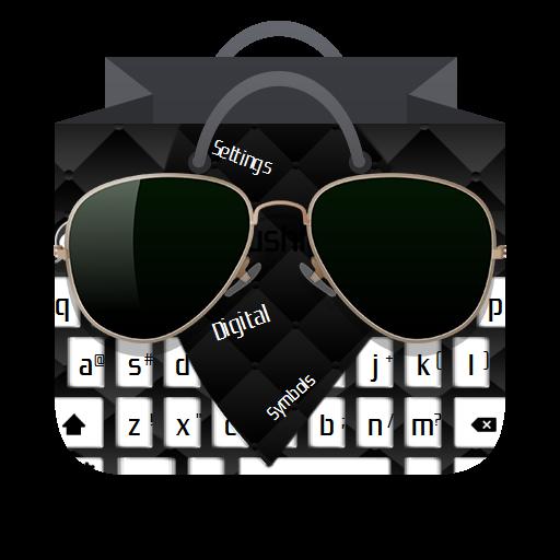 个人化のブラッククッション GO Keyboard LOGO-記事Game