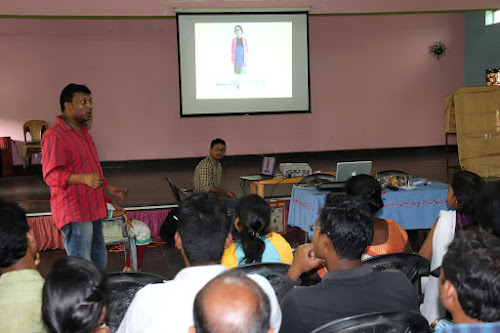Abhay Xaxa speaks at a seminar on tribal entrepreneurship in Odisha's Rourkela last year. The event was part of a larger campaign initiated by Xaxa and his friends to spread awareness on tribal entrepreneurship across various states.. NEELAM KERKETTA