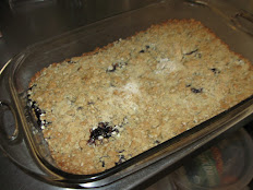 """Blueberry Squares For 9"""" x 13"""""""