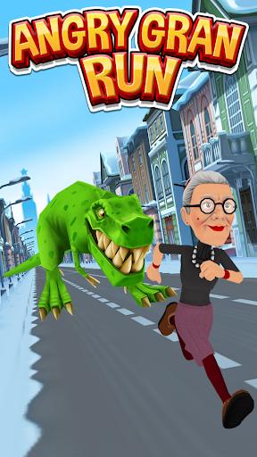 Code Triche Angry Gran Run - Running Game APK MOD screenshots 1