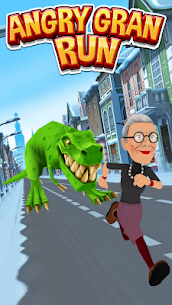 Angry Gran Run MOD 2.5.0 (Unlimited Coins) 1