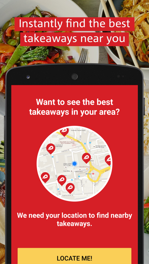 hungryhouse Takeaway Delivery- screenshot