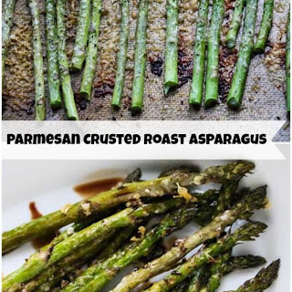 Roasted Asparagus with Parmesan Crust