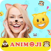 Animoji for phone X +Live Emoji Face Swap Emoticon