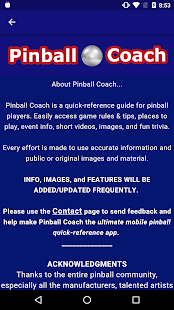 Pinball Coach- screenshot thumbnail
