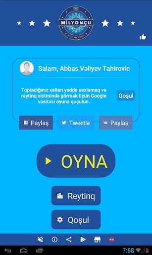 Milyonçu 2017-Azerbaijani game screenshot 11