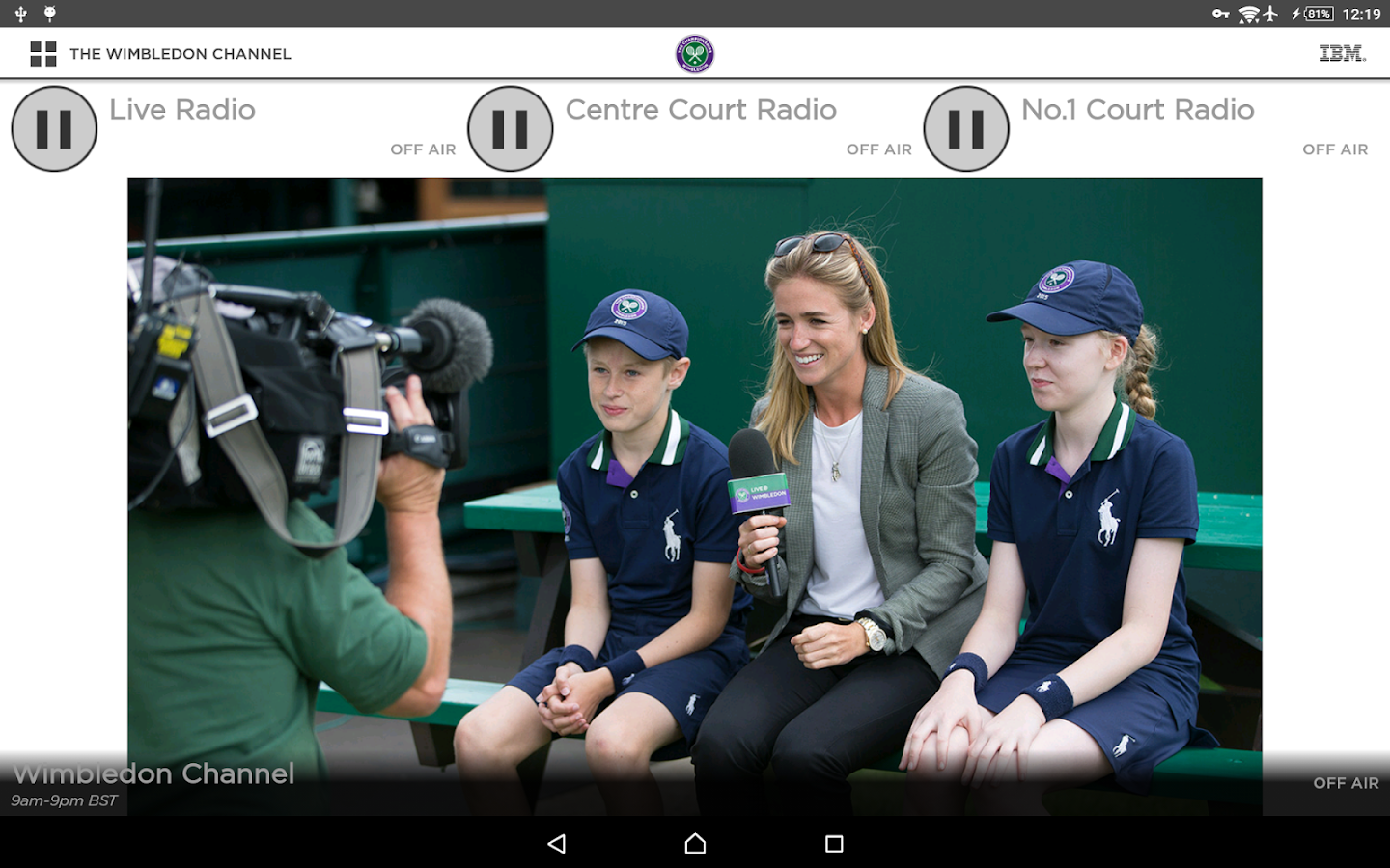 The Championships, Wimbledon 2017- screenshot