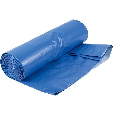 Sopsäck LLD 410L blå/vit 80my
