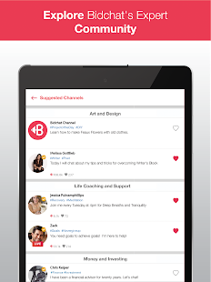 Bidchat: Video Chat with Experts and Influencers- screenshot thumbnail