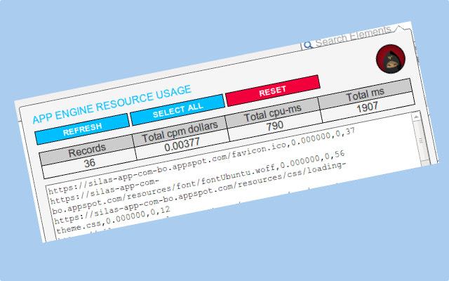 App Engine Resource Usage