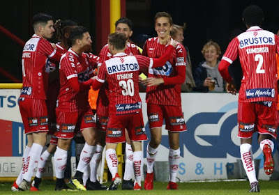 Mouscron-Courtrai: Julien De Sart incertain