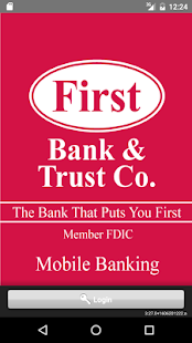 First Bank & Trust Mobile Bank- screenshot thumbnail
