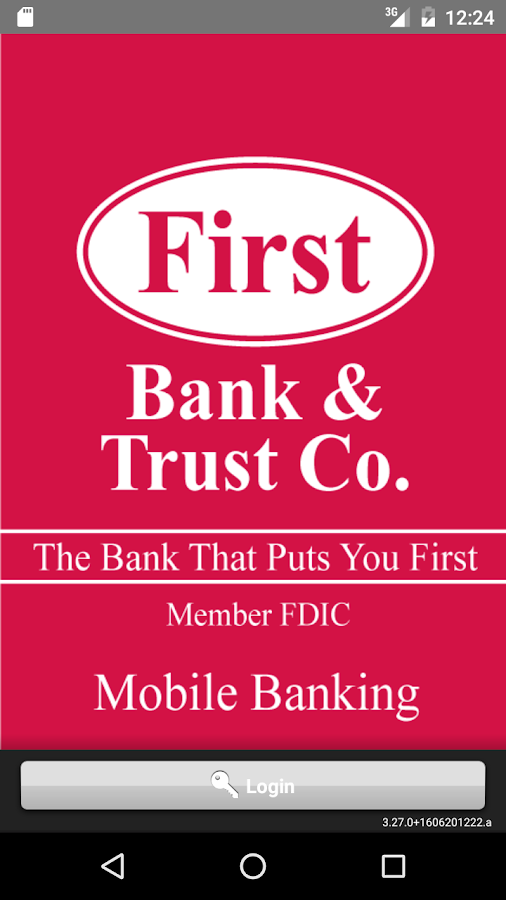 First Bank & Trust Mobile Bank- screenshot