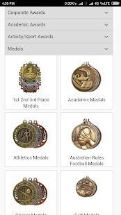 Alltrophies Shop for Medals, Awards and Trophies- screenshot thumbnail