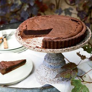 Chocolate-Bourbon Tart