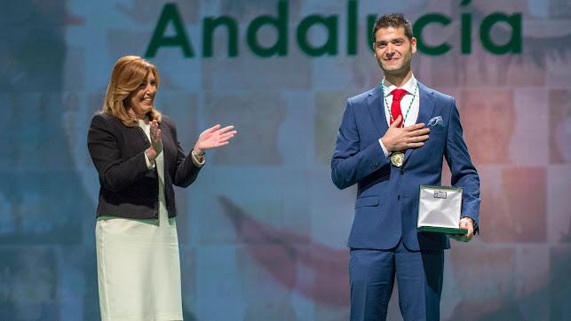 Ramón González recibió la Medalla de Andalucía en 2017.