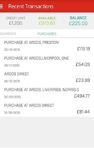My Argos Card screenshot 3