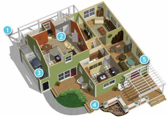 3d Home Plan Design Ideas Screenshot