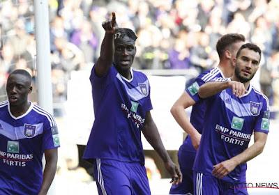 Trois nouveaux joueurs à l'entraînement d'Anderlecht lundi