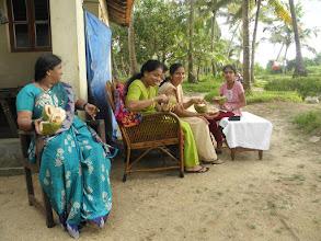 Photo: Karnataka, drinking fresh cocnut milk