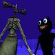 A Cartoon Cat & Mad Siren Head Night per PC Windows