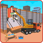 City Builder Wall Construction Icon