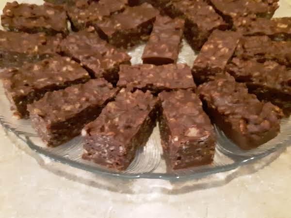 Chocolate Peanut Butter Krispie Bars_image