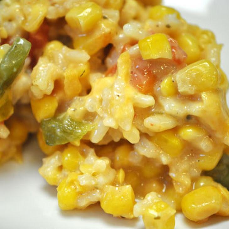 Sweet Corn and Rice Casserole Recept | Yummly
