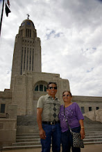 Photo: I bet Mama and Papa never thought they'd find themselves in Lincoln, Nebraska, of all places.