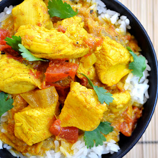 Turmeric Chicken.
