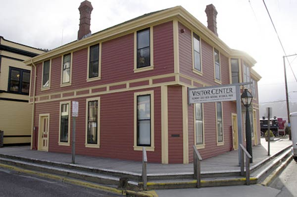 Explore the area's rich Klondike Gold Rush heritage during your visit to Skagway.