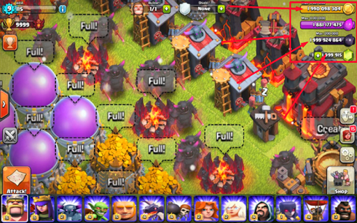 New FHX Clash Of Clans 16