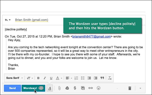 Wordzen for Gmail