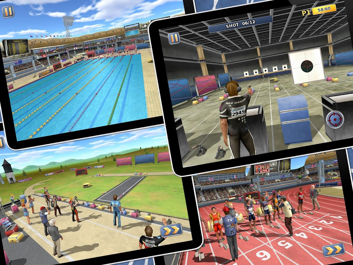 Athletics 2: Summer Sports - screenshot