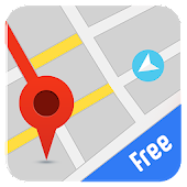Free GPS Maps, Directions, Navigation & Traffic Icon