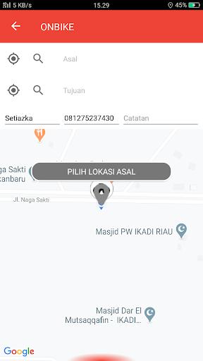 OnTime - Transportasi Online screenshot 4