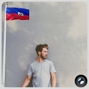 Haiti Flag In Your picture : Photo Editor