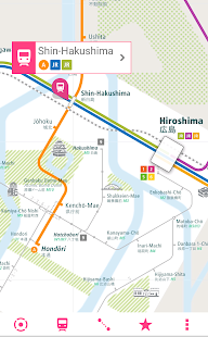 Hiroshima Rail Map Android Apps on Google Play