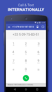 Second Phone Number: private texting & calling app Download For Android 3