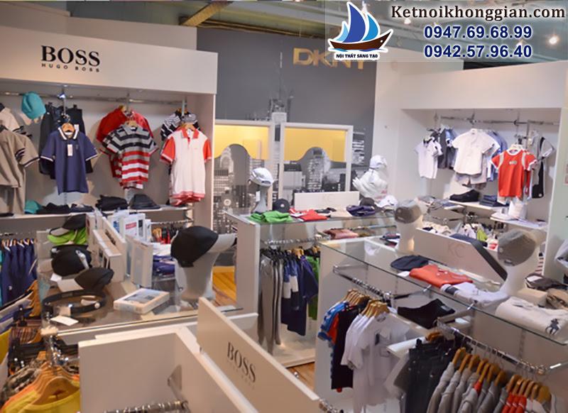 ý tưởng sắp xếp cửa hàng quần áo hay