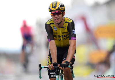 """Ook collega-renner zwaar onder de indruk: """"Ik geloofde de snelheden van Van Aert eerst niet"""""""